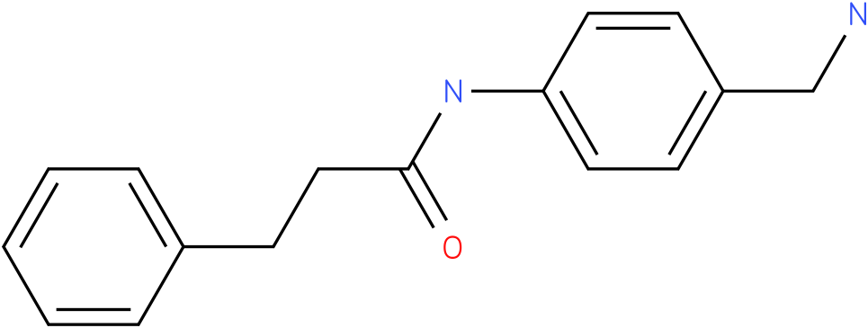 N-(4-Aminomethyl-phenyl)-3-phenyl-propionamide