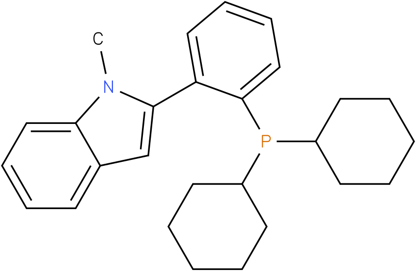 2-(2-Dicyclohexylphosphanyl-phenyl)-1-methyl-1H-indole