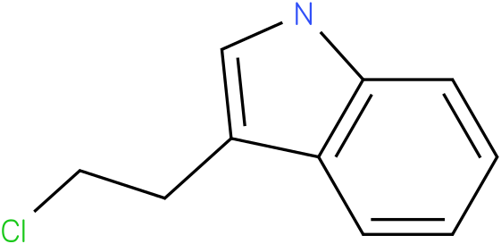 3-(2-chloroethyl)-1H-indole