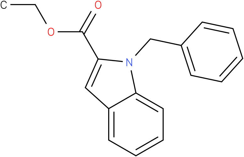 ETHYL 1-BENZYLINDOLE-2-CARBOXYLATE