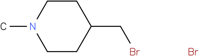 4-(bromomethyl)-1-methylpiperidine