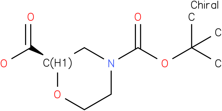(R)-4-(tert-butoxycarbonyl)morpholine-2-carboxylic acid