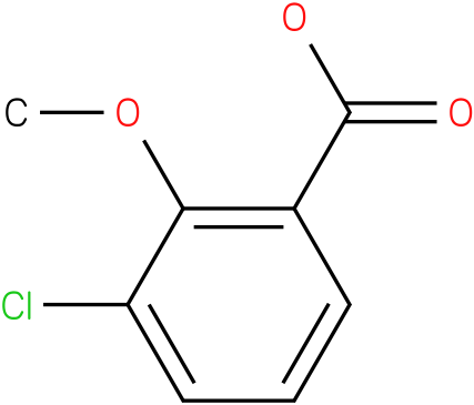 3-chloro-2-methoxybenzoic acid