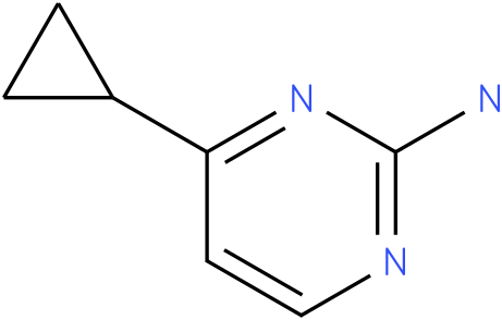 4-cyclopropylpyrimidin-2-amine