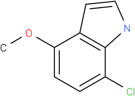 7-chloro-4-methoxy-1H-indole