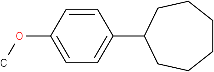 (4-methoxyphenyl)cycloheptane