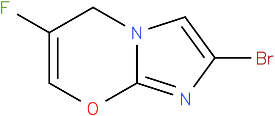 2-bromo-6-fluoroH-imidazo[1,2-a]pyridine