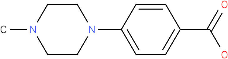 4-(4-Methylpiperazin-1-yl)benzoic acid