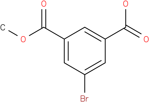 3-(methoxycarbonyl)-5-bromobenzoic acid