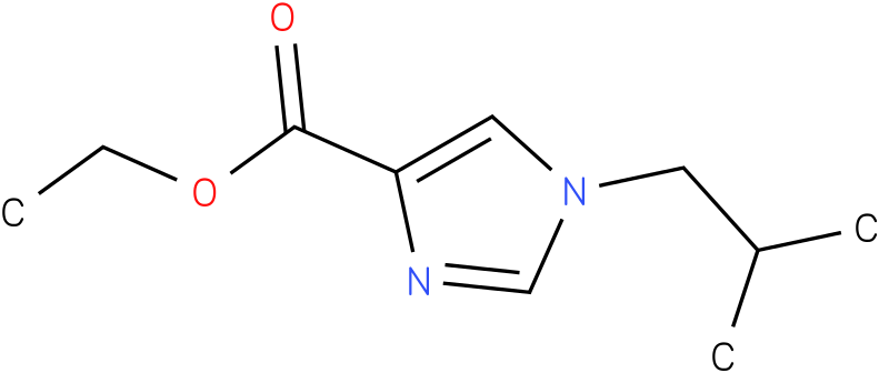 ethyl 1-isobutyl-1H-imidazole-4-carboxylate