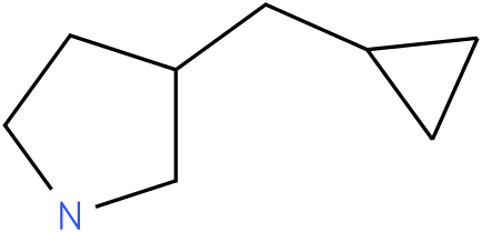 3-(cyclopropylmethyl)pyrrolidine