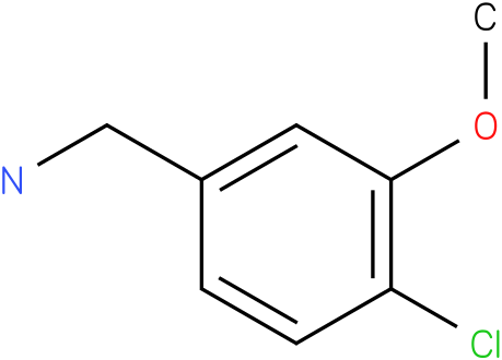 (4-chloro-3-methoxyphenyl)methanamine