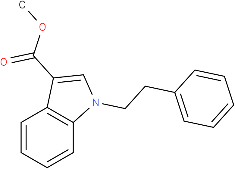 methyl 1-phenethyl-1H-indole-3-carboxylate