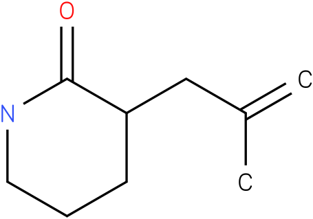 3-(2-methylallyl)piperidin-2-one