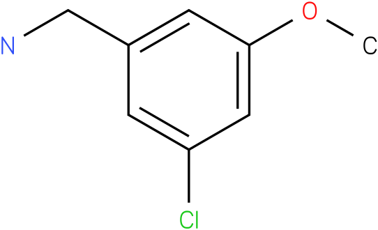 (3-chloro-5-methoxyphenyl)methanamine