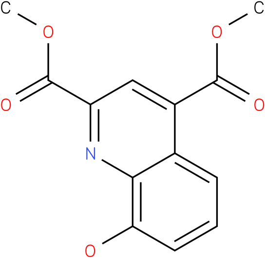 dimethyl 8-hydroxyquinoline-2,4-dicarboxylate