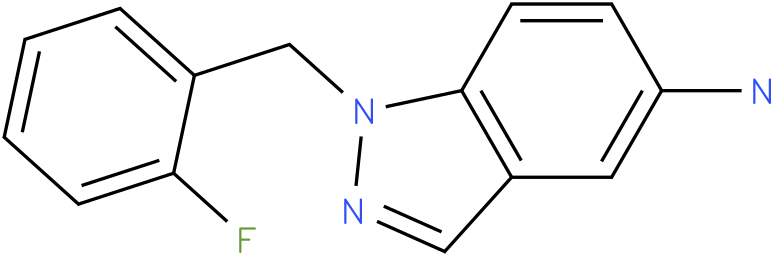 1H-Indazol-5-amine,1-[(2-fluorophenyl)methyl]-