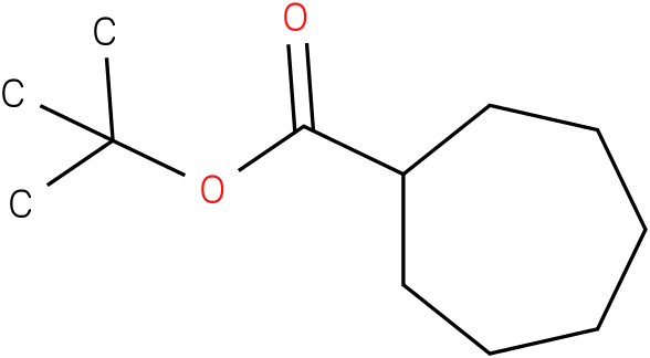 tert-butyl cycloheptanecarboxylate