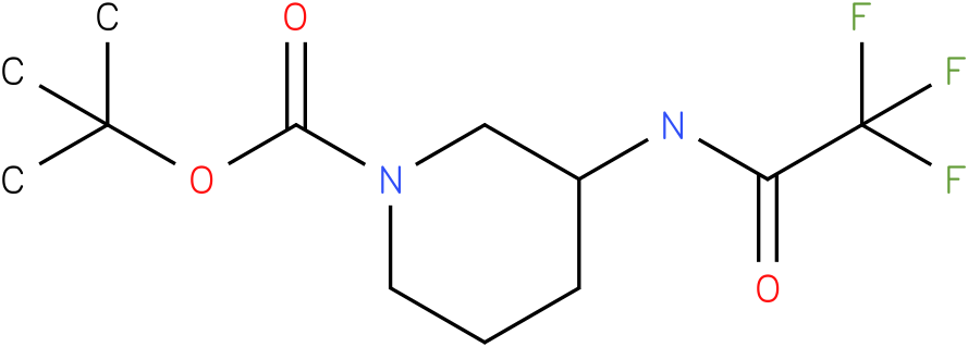 tert-butyl 3-(2,2,2-trifluoroacetamido)piperidine-1-carboxylate