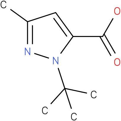 1-tert-butyl-3-methyl-1H-pyrazole-5-carboxylic acid