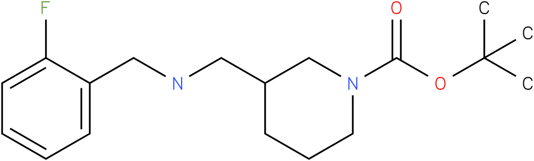 1-Boc-3-[(2-Fluoro-benzylamino)-methyl]-piperidine