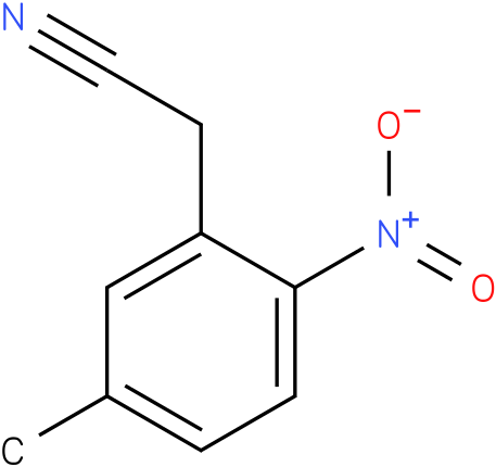 2-(5-methyl-2-nitrophenyl)acetonitrile
