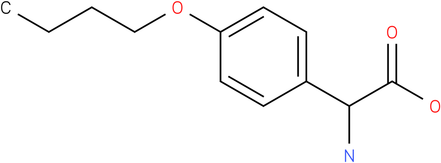 Amino-(4-butoxy-phenyl)-acetic acid