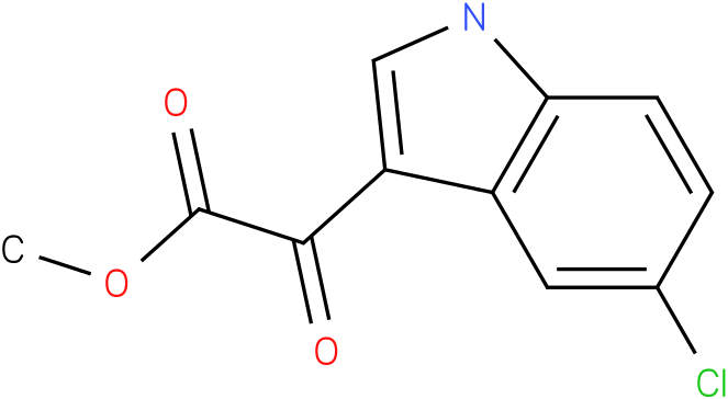 methyl 2-(5-chloro-1H-indol-3-yl)-2-oxoacetate