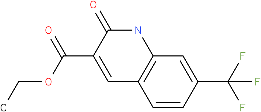 ethyl 7-(trifluoromethyl)-1,2-dihydro-2-oxoquinoline-3-carboxylate