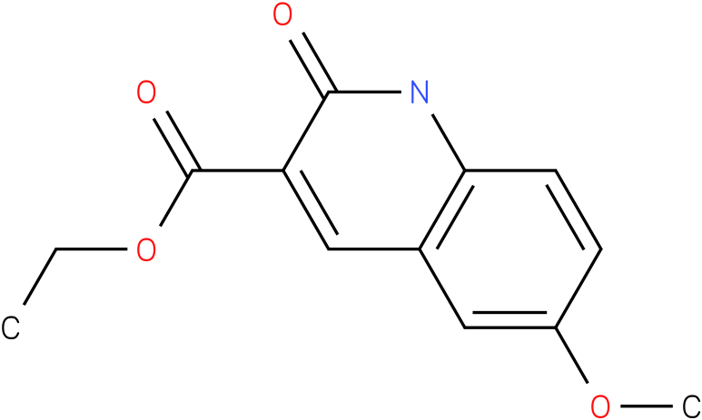 ethyl 1,2-dihydro-6-methoxy-2-oxoquinoline-3-carboxylate
