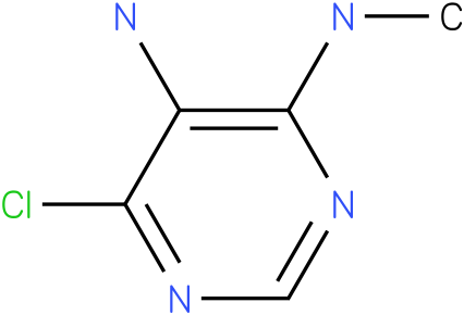 6-chloro-N4- methylpyrimidine -4,5-diamine