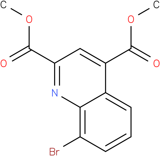 dimethyl 8-bromoquinoline-2,4-dicarboxylate