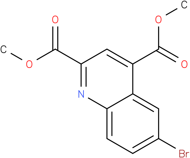 dimethyl 6-bromoquinoline-2,4-dicarboxylate