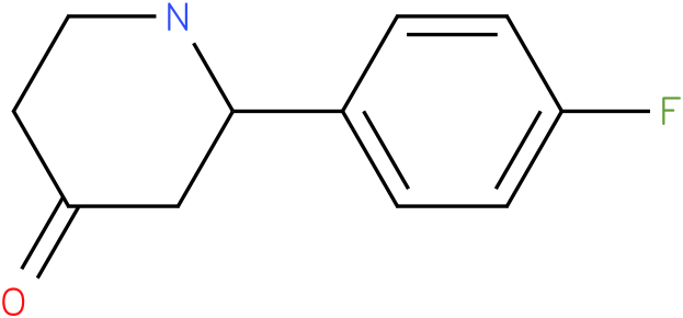 2-(4-fluorophenyl)piperidin-4-one