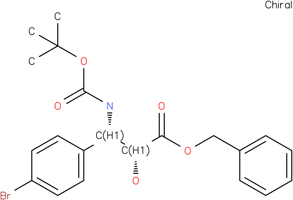 tert-butyl (1S,2R)-2-((benzyloxy)carbonyl)-1-(4-bromophenyl)-2-hydroxyethylcarbamate