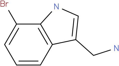 7-bromo-1H-indol-3-methylamine