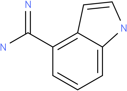 1h-indole-4-carboxamidine