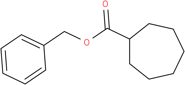 benzyl cycloheptanecarboxylate