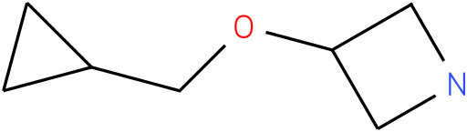3-(cyclopropylmethoxy)azetidine