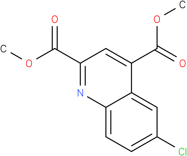 dimethyl 6-chloroquinoline-2,4-dicarboxylate