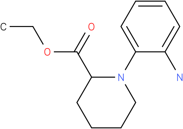 1-(2-amino-phenyl)-piperidine-2-carboxylic acid ethyl ester