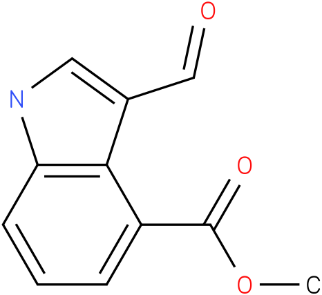 3-formyl-1h-indole-4-carboxylic acid methyl ester