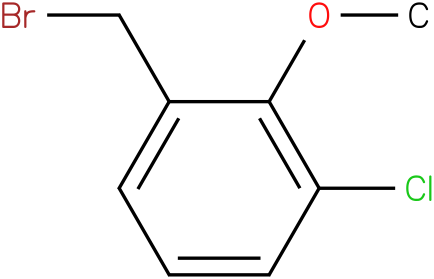 1-(bromomethyl)-3-chloro-2-methoxybenzene
