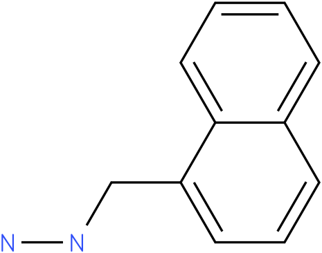 Naphthalen-1-ylmethyl-hydrazine