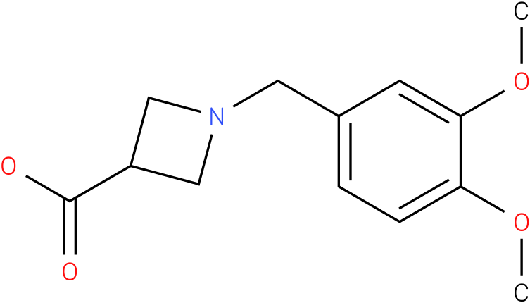 1-(3,4-dimethoxybenzyl)azetidine-3-carboxylic acid