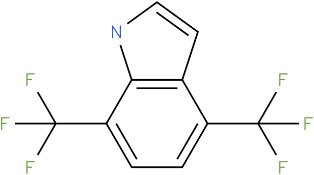 4,7-bis(trifluoromethyl)-1H-indole