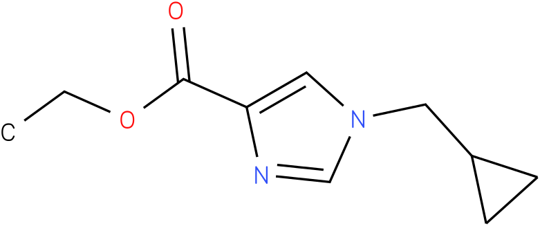 ethyl 1-(cyclopropylmethyl)-1H-imidazole-4-carboxylate