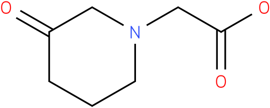 3-OXO-1-PIPERIDINEACETIC ACID