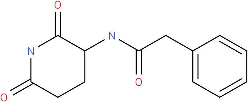 3-PHENYLACETYLAMINO-2,6-PIPERIDINEDIONE