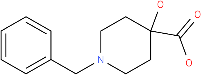 1-BENZYL-4-HYDROXY-4-PIPERIDINECARBOXYLIC ACID
